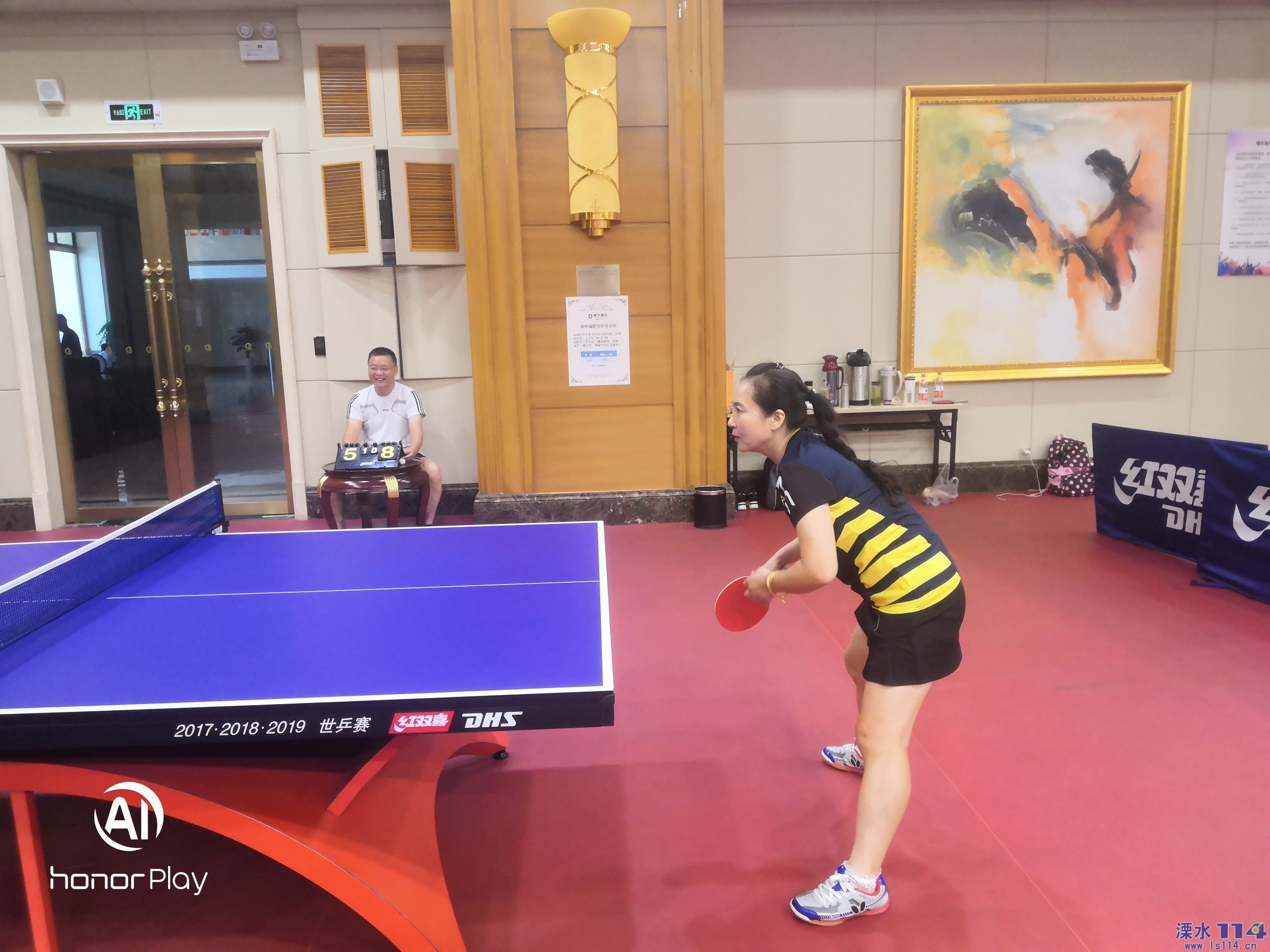 溧水女子乒乓球友�x�