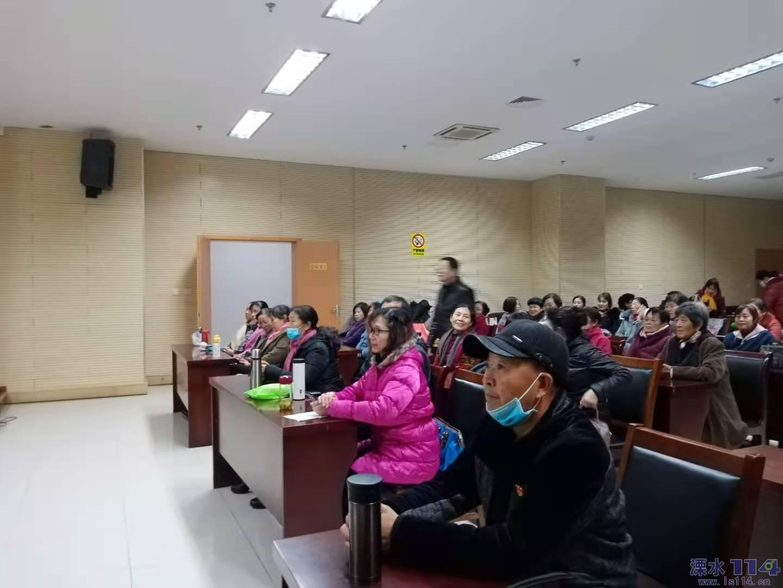 关爱南京市老年人健身健康培训  ——走进溧水区老体协