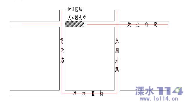 公告: 因天生桥路检测需要,对芮天路东侧天生桥进行临...