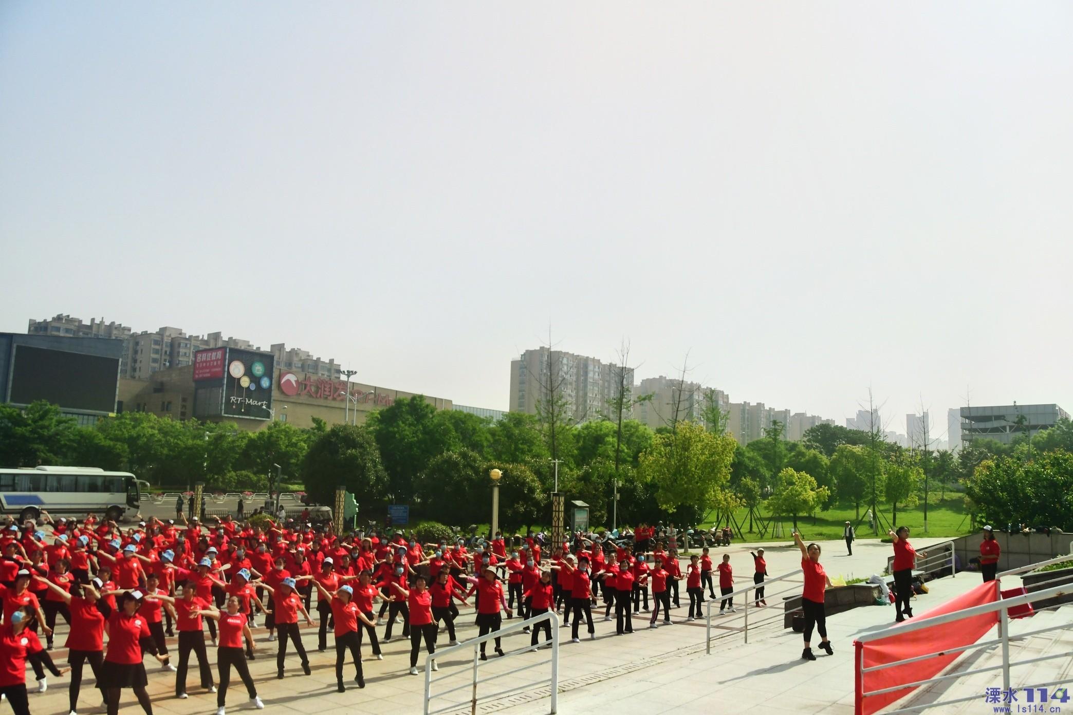 百年建党庆华诞.英姿舞动铭初心!
