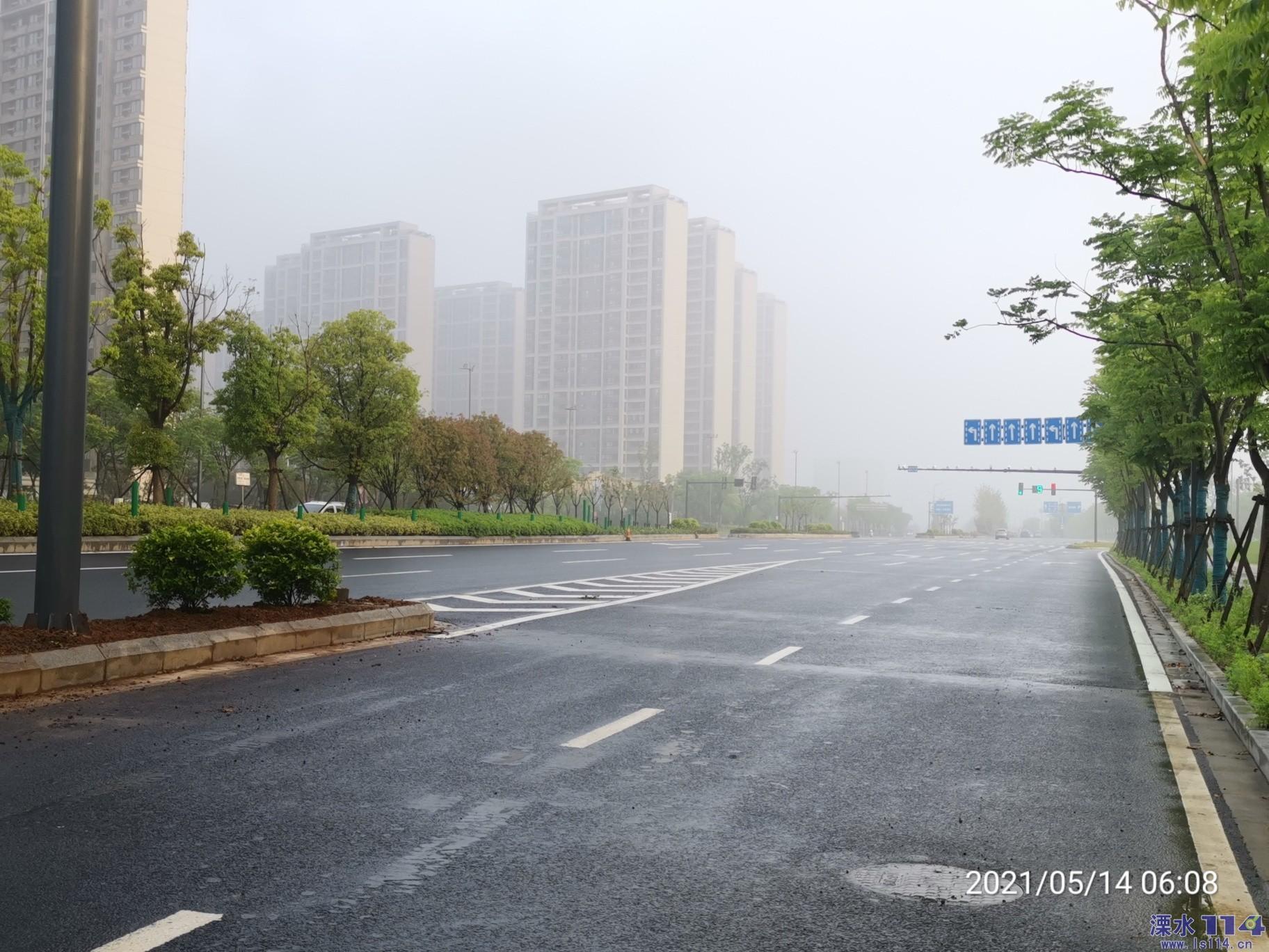 123省人了道改造逐段�M展,204街道竣工段�直坦��!